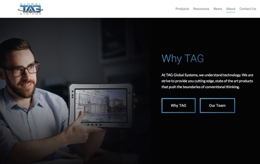 TAG's New Website!