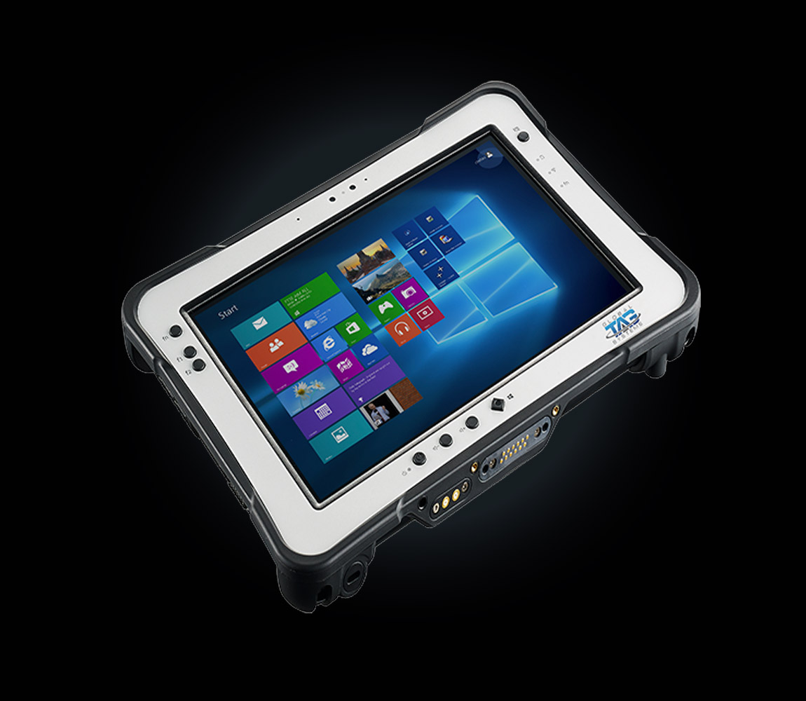 TAG Global Systems produces the TAG GD 3030, an interactive ruggedized tablet